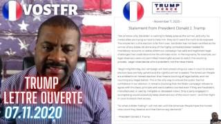 [VOSTFR] Trump : La lettre ouverte du 7 novembre 2020