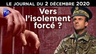 Après le confinement, Macron prépare l'isolement – JT du mercredi 2 décembre 2020