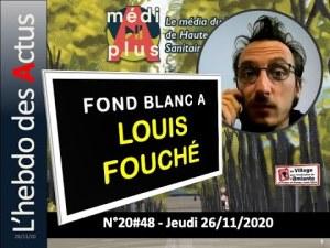 DR. LOUIS FOUCHÉ – COVID19 – L'invité de l'Hebdo MediAplus