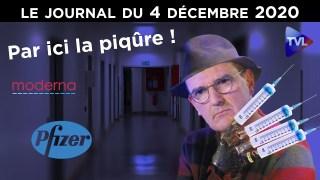 Jean Castex : un vaccin pour les contrôler tous – JT du vendredi 4 décembre 2020