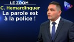 La parole est à la police ! – Le Zoom – Cyril Hemardinquer – TVL