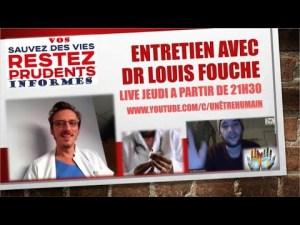 [LIVE] Entretien avec le Dr Louis Fouché à partir de 21h30 !