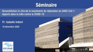 Reconstitution in vitro de la machinerie de réplication du SARS-CoV-1