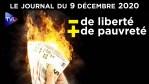 Ruinés, enfermés et vaccinés : Le Plan de Macron – JT du mercredi 9 décembre 2020
