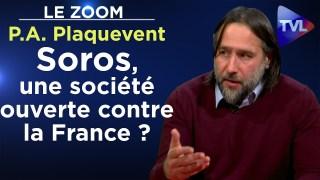 Soros, une société ouverte contre la France ? – Le Zoom – Pierre-Antoine Plaquevent – TVL