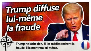 Trump diffuse lui-même la fraude électorale, dans un rally gigantesque