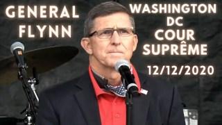 [VOSTFR] Discours historique du Général Flynn devant la Cour suprême à Washington DC 12.12.2020