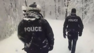Des Policiers dans vos sentiers ?