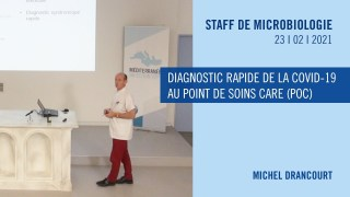 Diagnostic rapide de la COVID-19 au Point de Soins Care (POC)