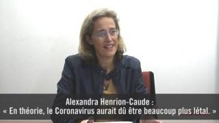 Alexandra Henrion-Caude : « En théorie, le coronavirus aurait dû être bien plus létal »