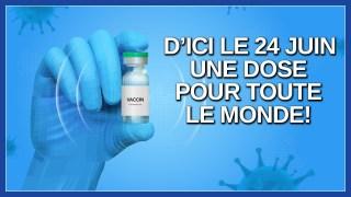 D'ici le 24 juin tout le monde sera vacciné. Dit Legault