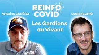 Les Gardiens du Vivant : Antoine Cuttitta et Louis Fouché, distribution de repas aux étudiants