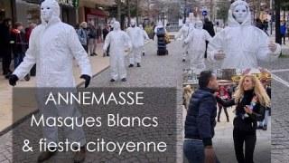 [CENSURÉ] Les Masques blancs & fiesta citoyenne 💃 Annemasse 27.02.21