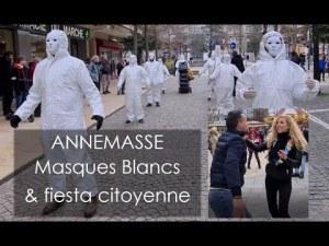 Les Masques blancs & fiesta citoyenne 💃 Annemasse 27.02.21