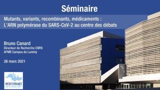 Mutants, variants, recombinants, médicaments : L'ARN polymérase du SARS-CoV-2 au centre des débats