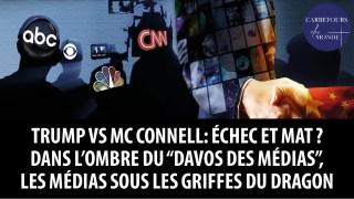 """Trump contre McConnell: échec et mat? Dans l'ombre du """"Davos des médias"""""""