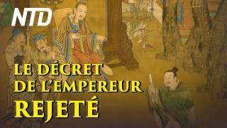 LE DÉCRET DE L'EMPEREUR REJETÉ