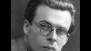 Rencontre avec le prophète Aldous Huxley