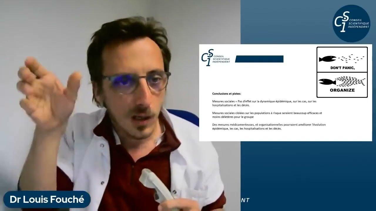 Réunion publique du CSI du 8 avril 2021 (extrait) : Louis Fouché