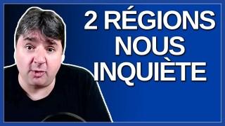 2 région nous inquiète. Dit Legault.