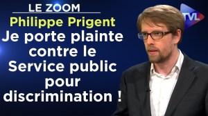 """""""Je porte plainte contre la télévision publique pour discrimination !"""" – Le Zoom – Philippe Prigent"""