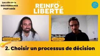 Les clés de la gouvernance partagée  2/5 avec Louis Fouché:  Choisir un processus de décision