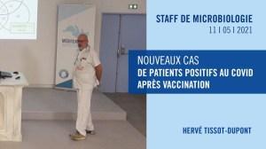 Nouveaux cas de patients positifs au COVID après vaccination