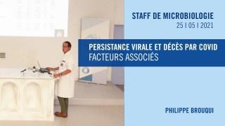 Persistance virale et décès par COVID : facteurs associés