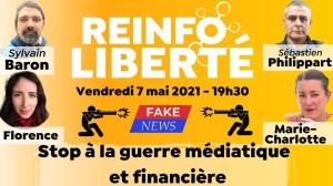 """Réinfo Liberté: """"Stop à la guerre médiatique et financière"""" avec un collectif de Gilets Jaunes"""