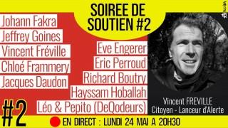 🗂 SOIRÉE DE SOUTIEN #2 📕 Soutien à Vincent FRÉVILLE 👨👩👧👦 15 participants 📆 24-05 ⏱ 20h30