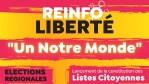 « Un notre monde » – Lancement de la constitution des Listes Citoyennes pour les élections régionales