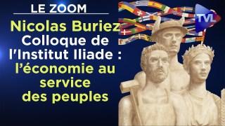 Zoom – Colloque de l'Institut Iliade – 2021 : au-delà du marché, l'économie au service des peuples