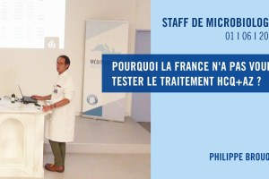 Pourquoi la France n'a pas voulu tester le traitement HCQ+AZ ?