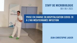Prise en charge en hospitalisation COVID-19 à l'IHU Méditerranée Infection