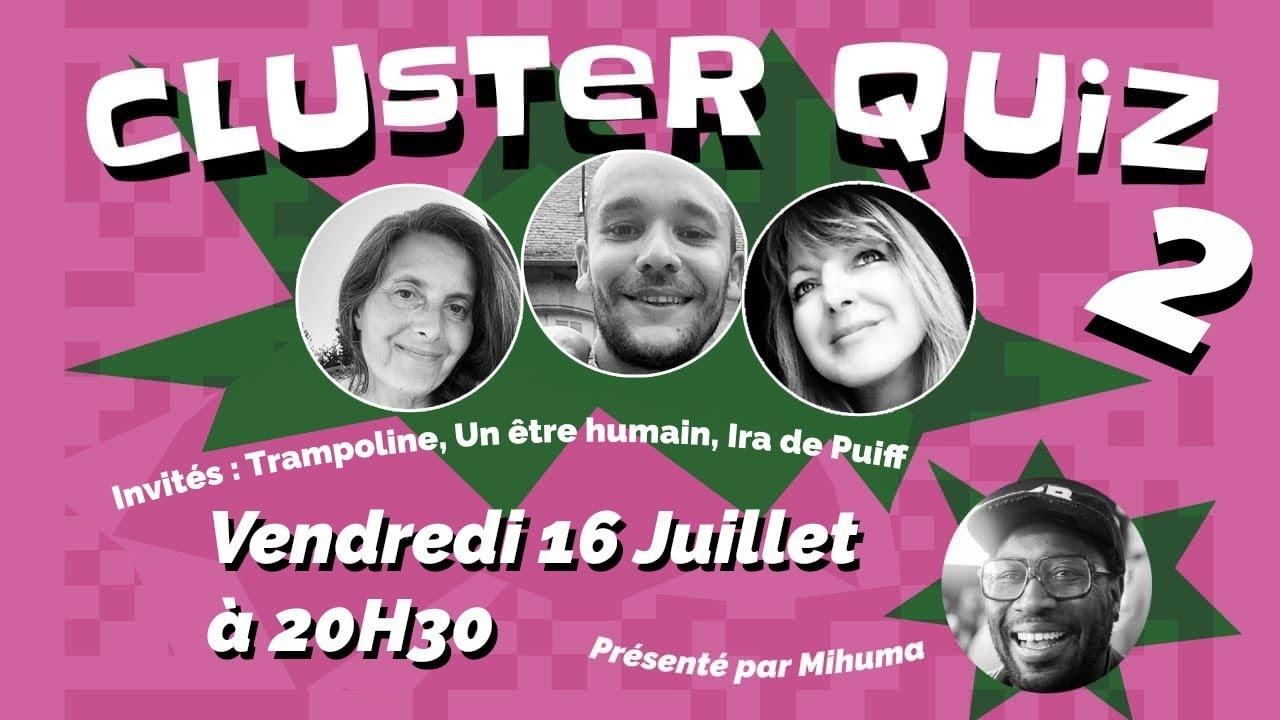CLUSTER QUIZ 2