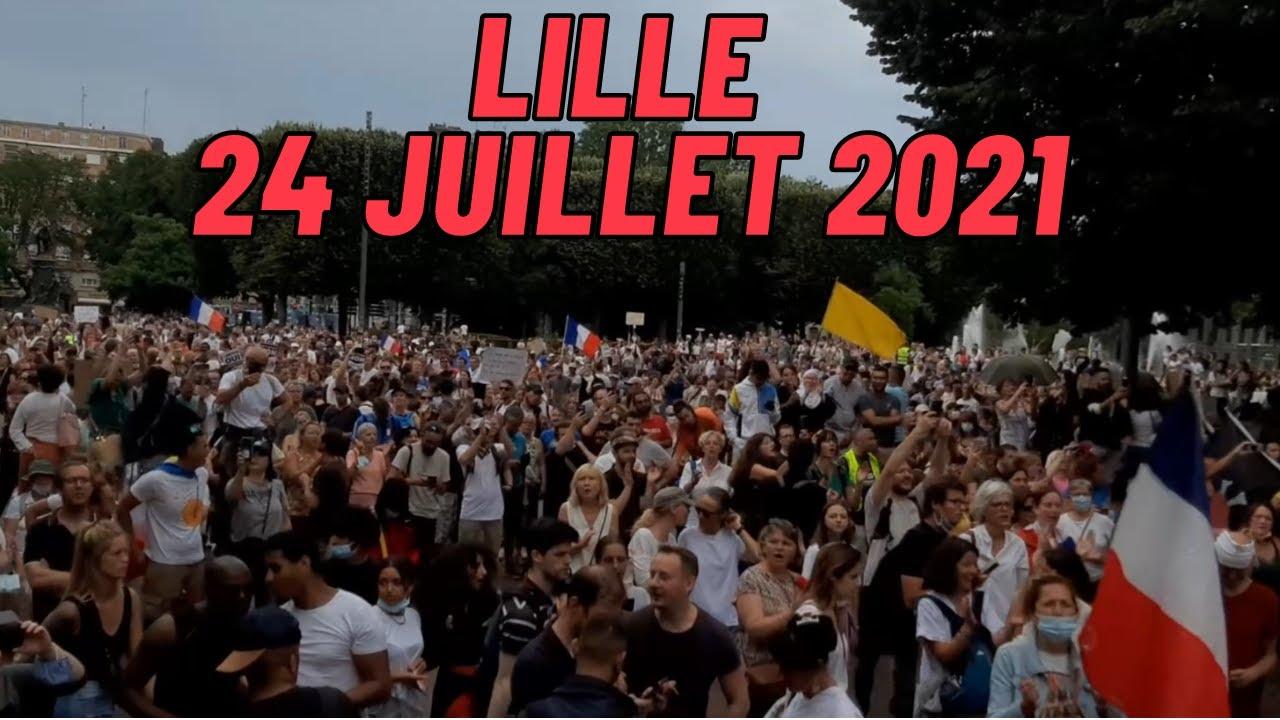 En direct de Lille 24 juillet 2021 On est là !