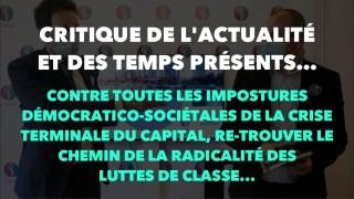 Francis Cousin : Critique de l'actualité et des temps présents – Juillet 2021