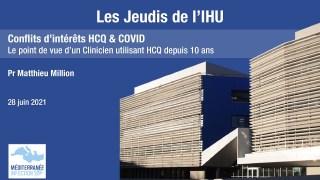Les Jeudis de l'IHU – Conflits d'intérêts – Pr. Matthieu Million