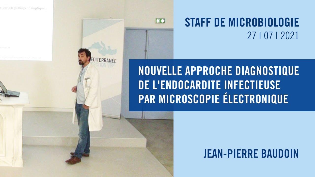 Nouvelle approche diagnostique de l'endocardite infectieuse par microscopie électronique