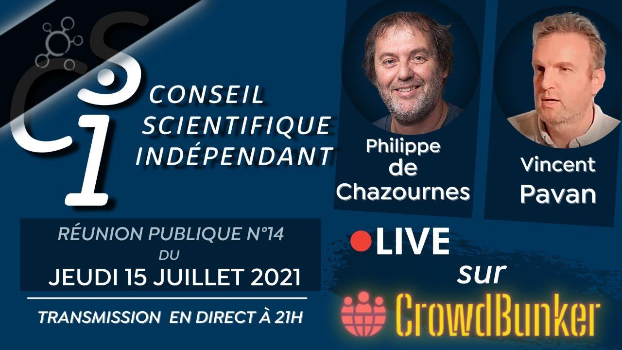Réunion publique n°14 du CSI (Conseil Scientifique Indépendant)