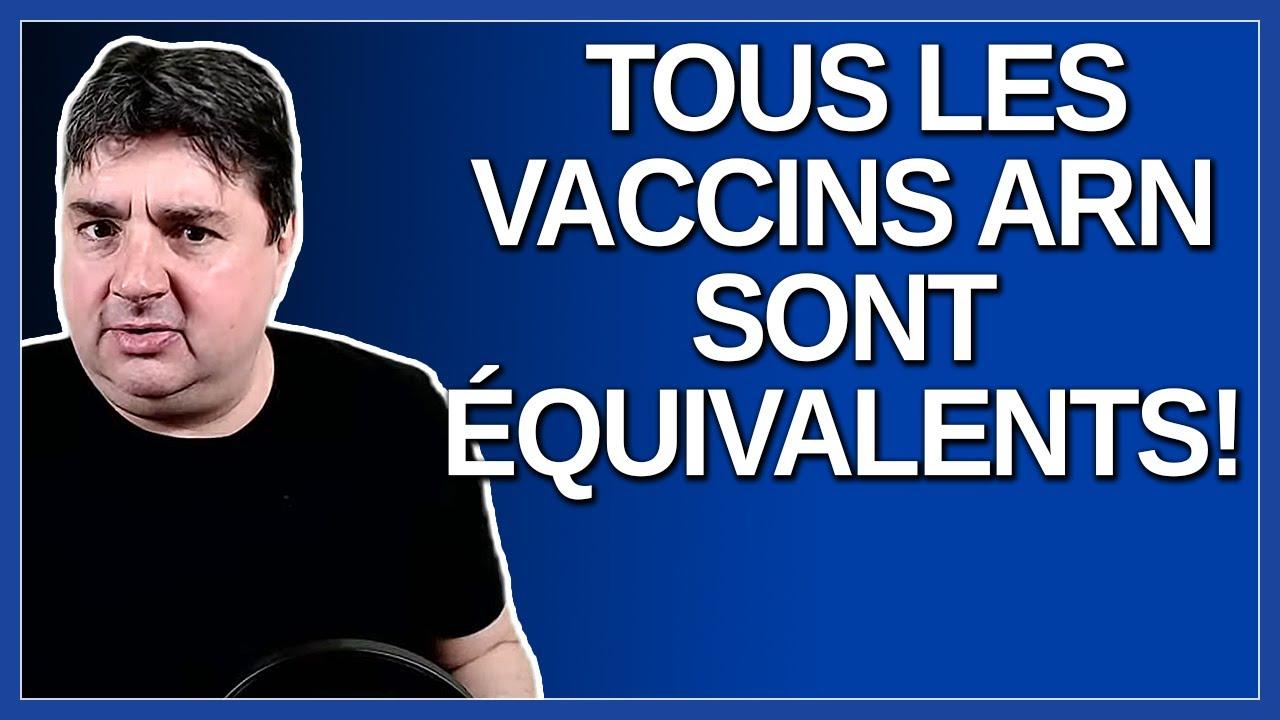 Tous les vaccins ARN sont équivalents et moi je vais recevoir le Moderna.  Dit Arruda
