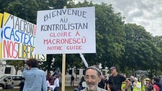 Manifestation anti-pass sanitaire – Gilets Jaunes, 21 août à Paris