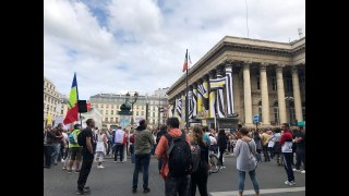 Manifestation Citoyenne et Gilets Jaunes Apartisans,  28 Août à Paris