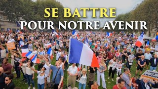 Se battre pour notre avenir  |  Manifestations anti-pass à Paris, 21 août 2021