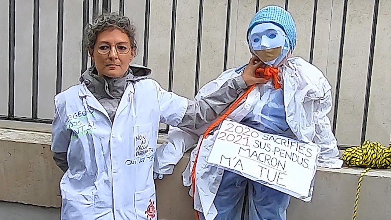 Larmes des soignants | Macron nous a tués