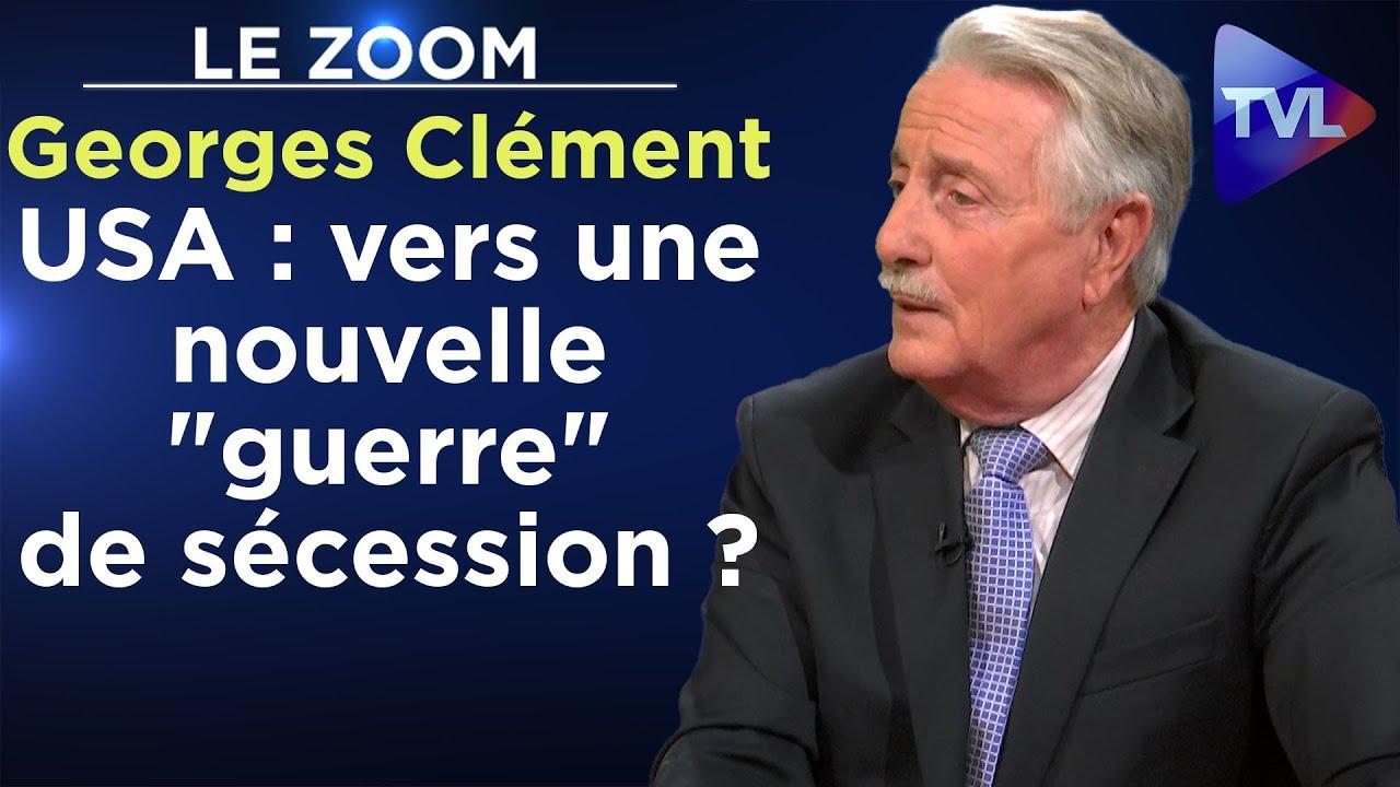 Les Etats-Unis de Biden : vers une nouvelle « guerre » de sécession ? – Le Zoom – Georges Clément