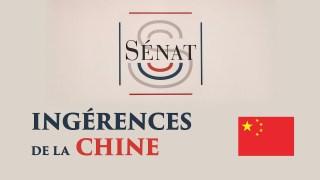 Conférence de presse au Sénat   Influence de la Chine à l'université française