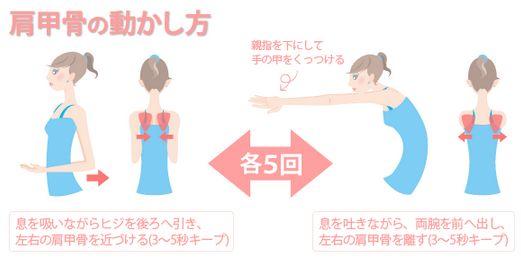 肩甲骨体操