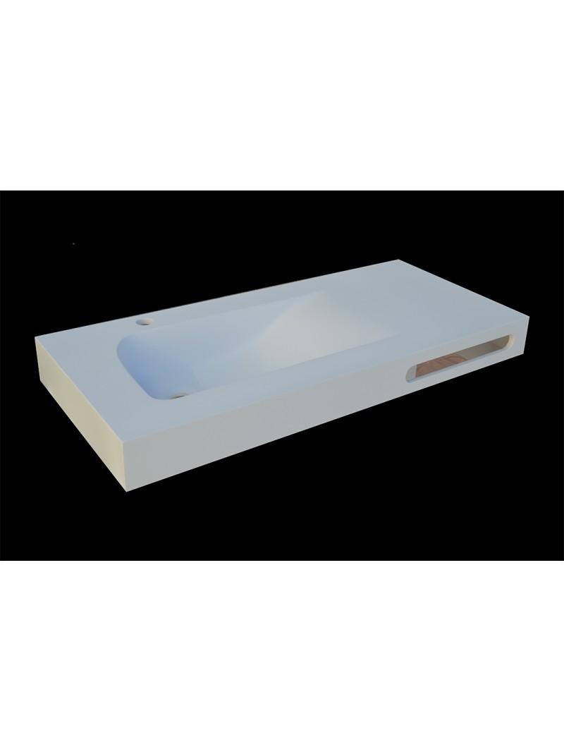 encimera de bao solid surface con faldon