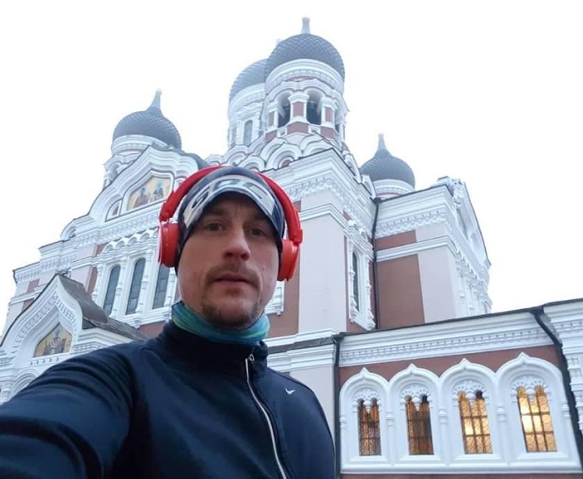 Alexander Nevskij-katedralen löpning